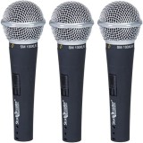 Studiomaster Trio 100 (Pack Of 3 Microph...