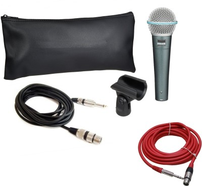 Krown Beta-58 Dynamic Mic With Low Noise 5mtr Lead Microphone