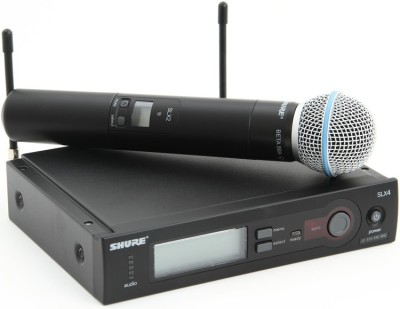 Shure SLX24/Beta58A Hand Wireless Microphone