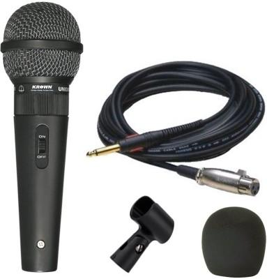 Krown KM59 XLR Multipurpose General PA Series Indian Mic Microphone