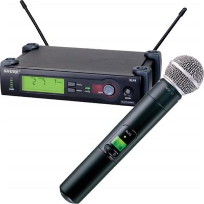 Shure SLX24/SM58 Hand Chordless Microphone