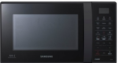 SAMSUNG 21 L Convection Microwave Oven (CE73JD-B/XTL, Full Black)