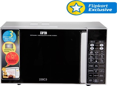 IFB 23 L Convection Microwave Oven (23SC3, Silver)