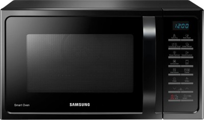 SAMSUNG 28 L Convection Microwave Oven (MC28H5025VK/TL, Black)