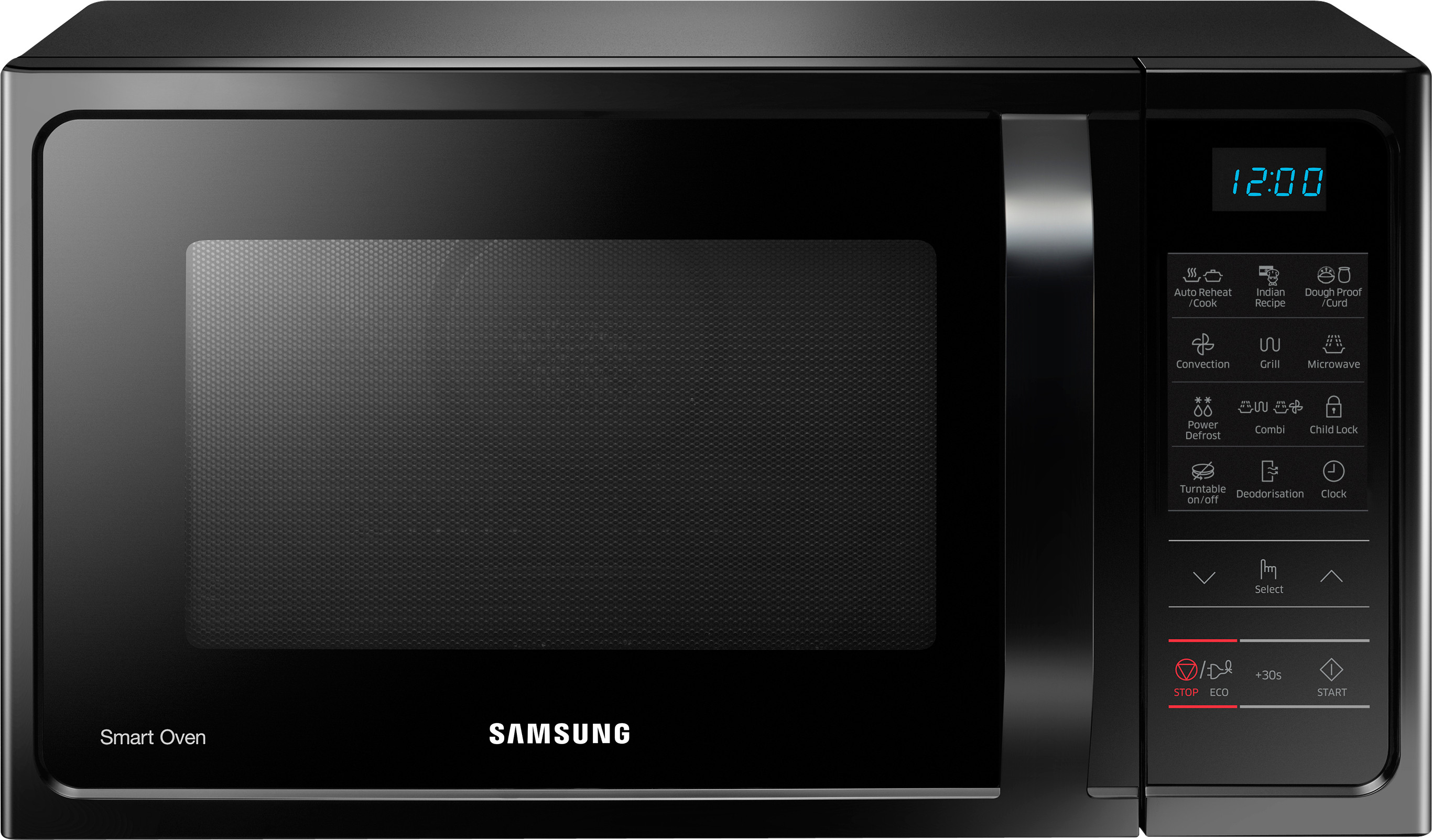 Samsung 28 L Convection Microwave Oven Mc28h5013ak Tl Black