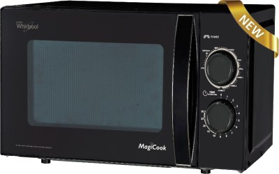 Whirlpool 20 L Grill Microwave Oven (Magicook 20 L Deluxe M-B, Black)