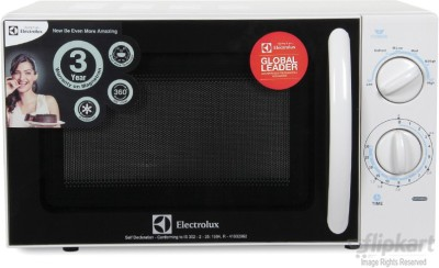Electrolux 20 L Solo Microwave Oven (S20M.WW-CG, White)
