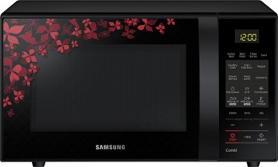 SAMSUNG 21 L Convection Microwave Oven(CE75JD-SB/XTL, Black Pattern)