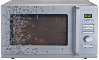 LG 32 L Convection Microwave Oven (MC3283AMPG, Silver Pixel)