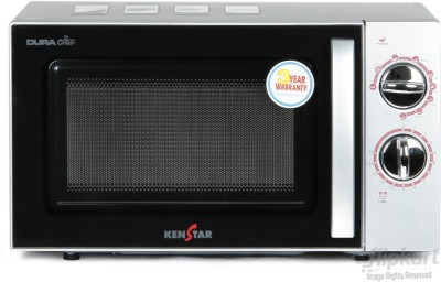 Kenstar 17 L Grill Microwave Oven (KM20GSCN, silver)