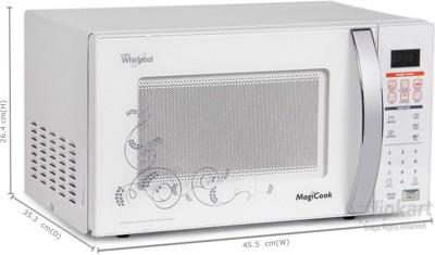 Whirlpool 20 L Solo Microwave Oven (MAGICOOK 20L CLASSIC (NEW), white)