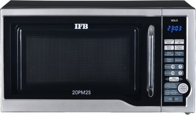 IFB 20 L Solo Microwave Oven(20PM2S, Metallic Silver)