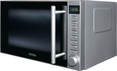 Onida 20 L Convection Microwave Oven (MO20CJP27B, Black and Silver)