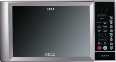 IFB 30 L Convection Microwave Oven (30SRC2, Metallic Silver)