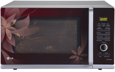 LG 32 L Convection Microwave Oven (MC3283FMPG, Silver)