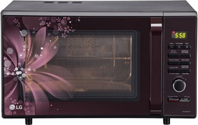 LG 28 L Convection Microwave Oven (MC2886BRUM, Maroon)