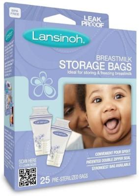 Lansinoh Breast Milk Storage Bags(Pack of 25, White)