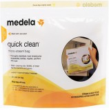 Medela Quick Clean Box of 5 Bags (Pack o...
