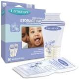 Lansinoh Breast Milk Storage Bag (White,...