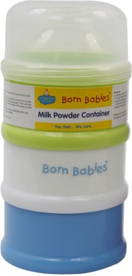 BORN BABIES MILK POWDER CONTAINER(Pack of 1, Blue)