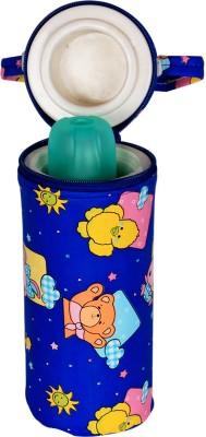 Ole Baby Bunny Print Single Portable Infant Feeding Milk Food Bottle Thermal Warmer Holder (Upto 250ml each)