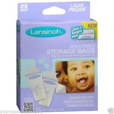 Baby Bucket Lansinoh Breastmilk Storage Bags