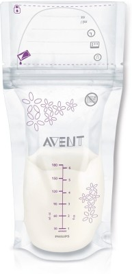 Philips Avent Breast Milk Storage Bags(White)