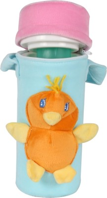 Ole Baby 3D Pop Out Plush Soft Toy Single Portable Infant Feeding Milk Food Bottle Thermal Warmer Bag Storage Holder (Upto 250ml)