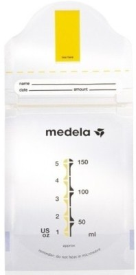 Medela Pump and Save Breastmilk Bags(Pack of 1, Clear)