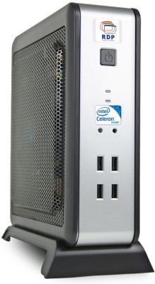 RDP XL-550 - Free DOS, Intel H61 Chipset, Intel Celeron Processor J1900, 2.42 GHz Quad Core Processor, 2 GB DDR3, 500 GB HDD 2 Mini PC