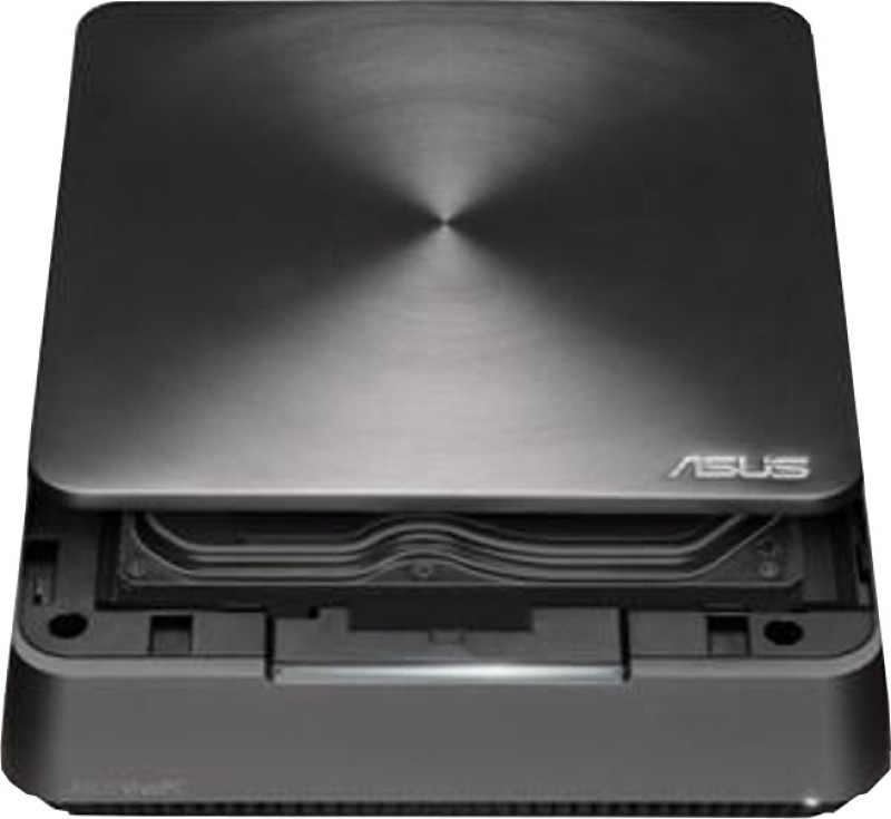 Asus VM60-G009M - Mobile Intel HM76 Express, Intel Core i3 3217U, 4 GB DDR3, 500 GB HDD 4 Mini PC(Grey)