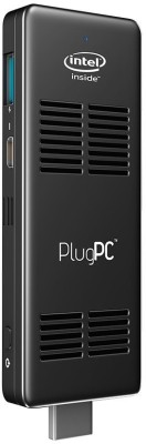 RDP Plug PC 2 a - Windows 10 Genuine, Intel, Atom Quad Core X5, 2 GB DDR3L, 32 GB eMMC 2 Stick PC(Black)