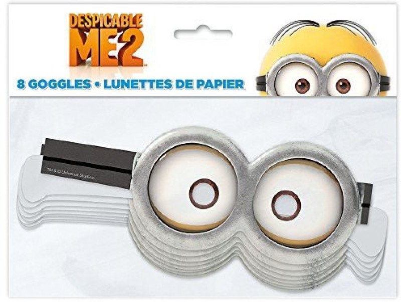 Unique Minion Goggles(Adjustable Strap Pack of 8)
