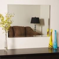 SDG M-124 Bathroom Mirror(Rectangle Finish : Cerium IV Oxide)