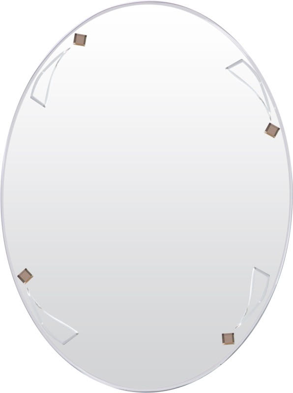 Creative Glass Studio MELISSA Decorative Mirror(Oval Finish : Bevelled Finish)