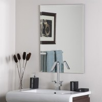 SDG M-123 Bathroom Mirror(Rectangle Finish : Cerium IV Oxide)
