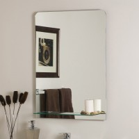 SDG M-127 Bathroom Mirror(Rectangle Finish : Cerium IV Oxide)