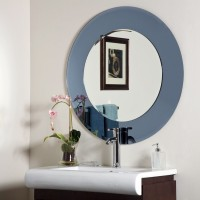 SDG M-136 Bathroom Mirror(Round Finish : Cerium IV Oxide)