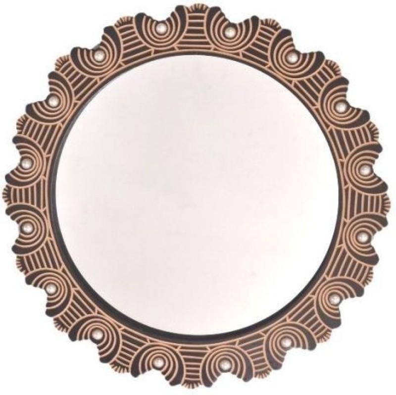 Onlineshoppee AFR2376 Bathroom Mirror(Round)
