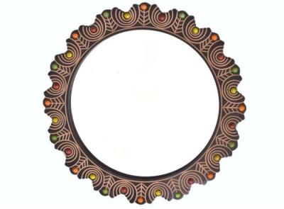 Onlineshoppee AFR2375 Bathroom Mirror(Round)