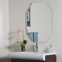 SDG M-101 Bathroom Mirror(Octagon Finish : Cerium IV Oxide)