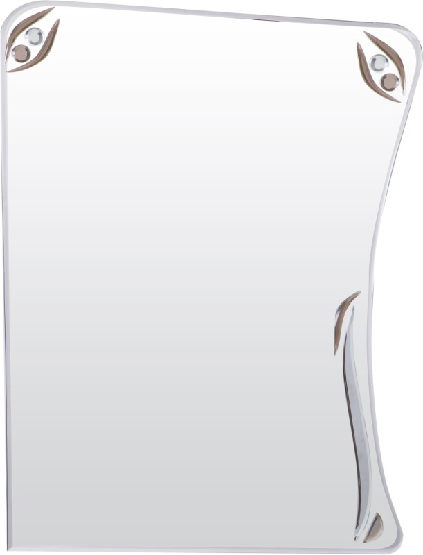 Creative Glass Studio OLIVIA Decorative Mirror(Rectangle Two Sides Curved Finish : Bevelled Finish)