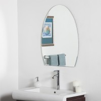 SDG M-102 Bathroom Mirror(Oval Finish : Cerium IV Oxide)