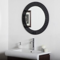 SDG M-108 Bathroom Mirror(Round Finish : Cerium IV Oxide)