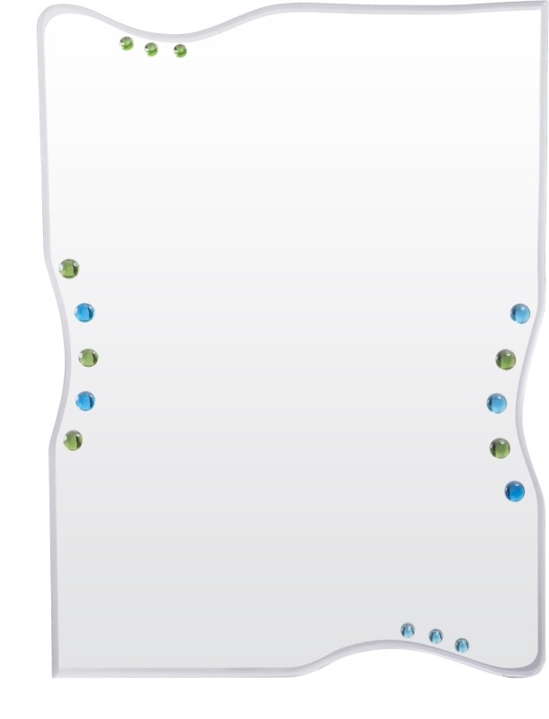 Creative Glass Studio BOND Decorative Mirror(Rectangle Four Sides Curved Finish : Bevelled Finish)