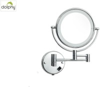 Dolphy LED 5x shaving and Make-up 8 inch Magnifying Mirror(Round)