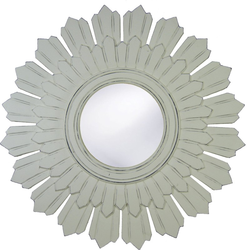 Urmila Enterprises M4 Bathroom Mirror(Round)