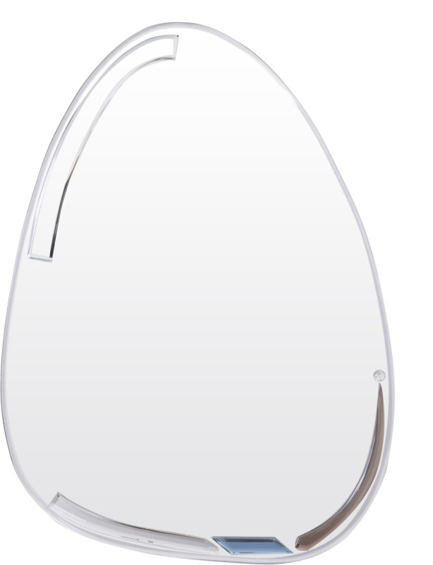 Creative Glass Studio EGG MOODLE Decorative Mirror(Egg Shape Finish : Bevelled Finish)