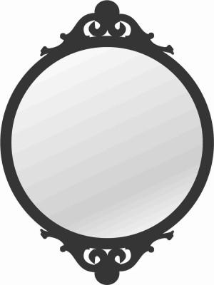 Kartprint Straight Decorative Mirror
