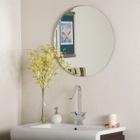 SDG M-103 Bathroom Mirror(Round Finish : Cerium IV Oxide)